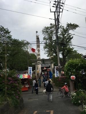 片岡神社お祭り