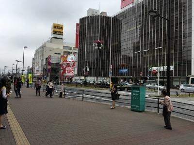 小金井市の駅前