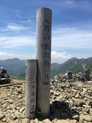 塔ノ岳登頂