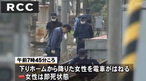 天神川駅 人身事故