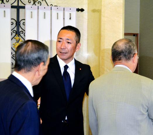 中川俊直 記者会見 後援会