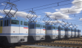 機関車群 (25)