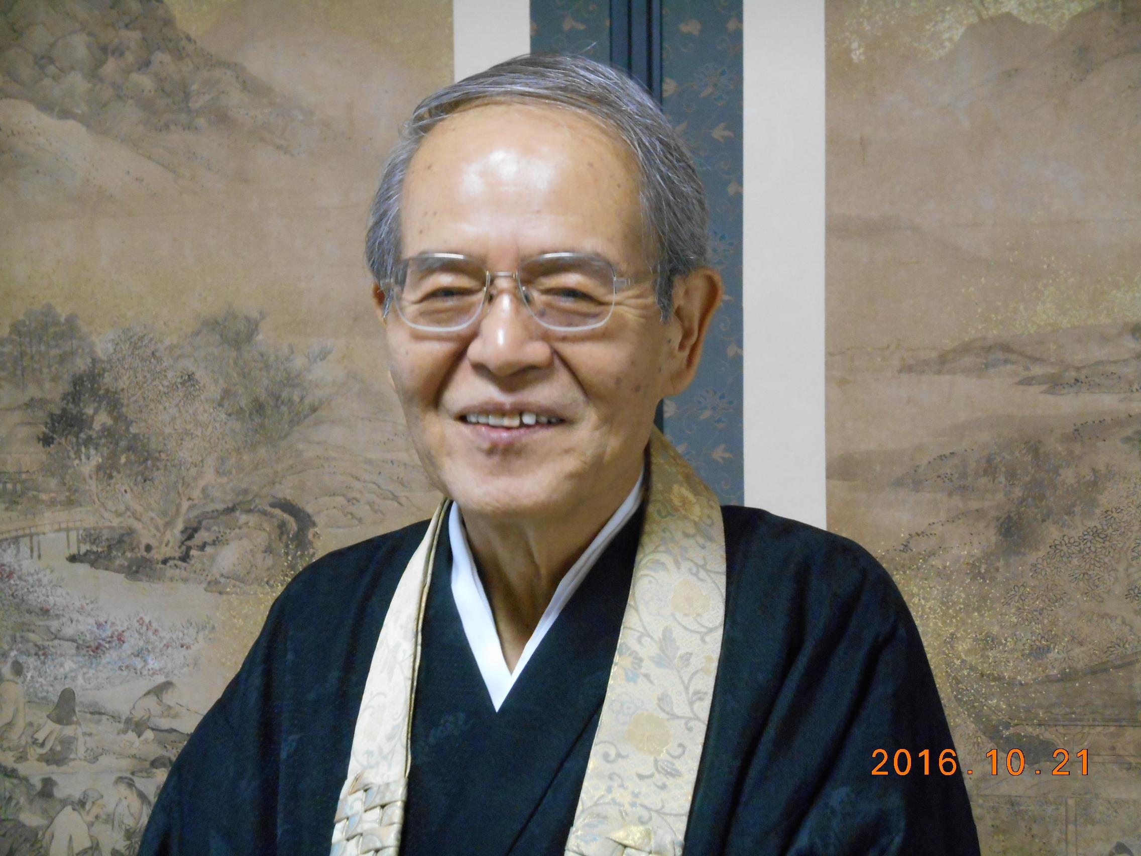 加藤智見先生写真