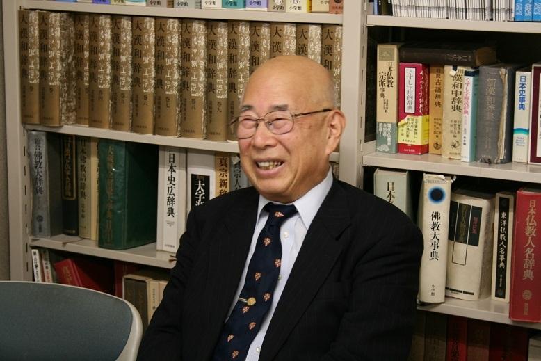礪波護先生写真