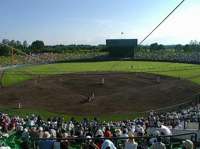 帯広の森野球場W