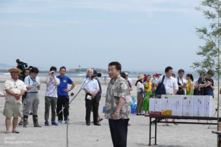 薄磯海水浴場にて平成29年度海開き式が行われました! [平成29年7月16日(日)更新]11
