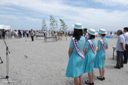 薄磯海水浴場にて平成29年度海開き式が行われました! [平成29年7月16日(日)更新]12