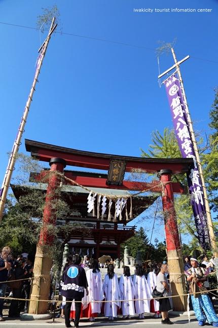 飯野八幡宮流鏑馬神事が執り行われました! [平成29年9月16日(土)更新]13