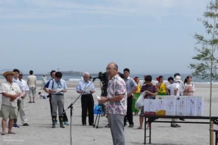 薄磯海水浴場にて平成29年度海開き式が行われました! [平成29年7月16日(日)更新]14