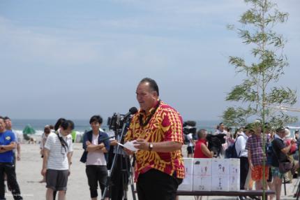 薄磯海水浴場にて平成29年度海開き式が行われました! [平成29年7月16日(日)更新]16