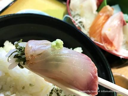 いわき巡り食編 おのざき「潮目食堂」でお魚三昧♪7