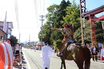 飯野八幡宮流鏑馬神事が執り行われました! [平成29年9月16日(土)更新]9