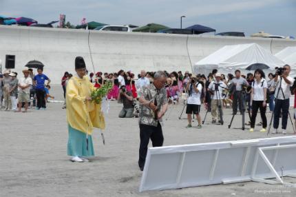薄磯海水浴場にて平成29年度海開き式が行われました! [平成29年7月16日(日)更新]9