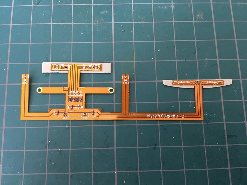 LEDユニット HO 16番 ワールド工芸 キヤ97系 キット