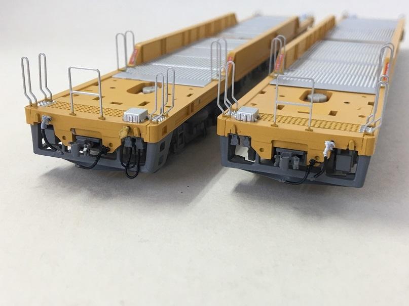 エアホース ジャンパ線 HO 16番 ワールド工芸 キヤ97系 キット