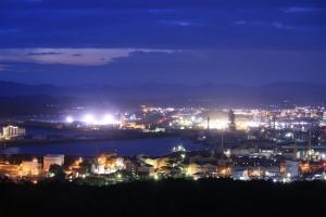 竜王山夜景