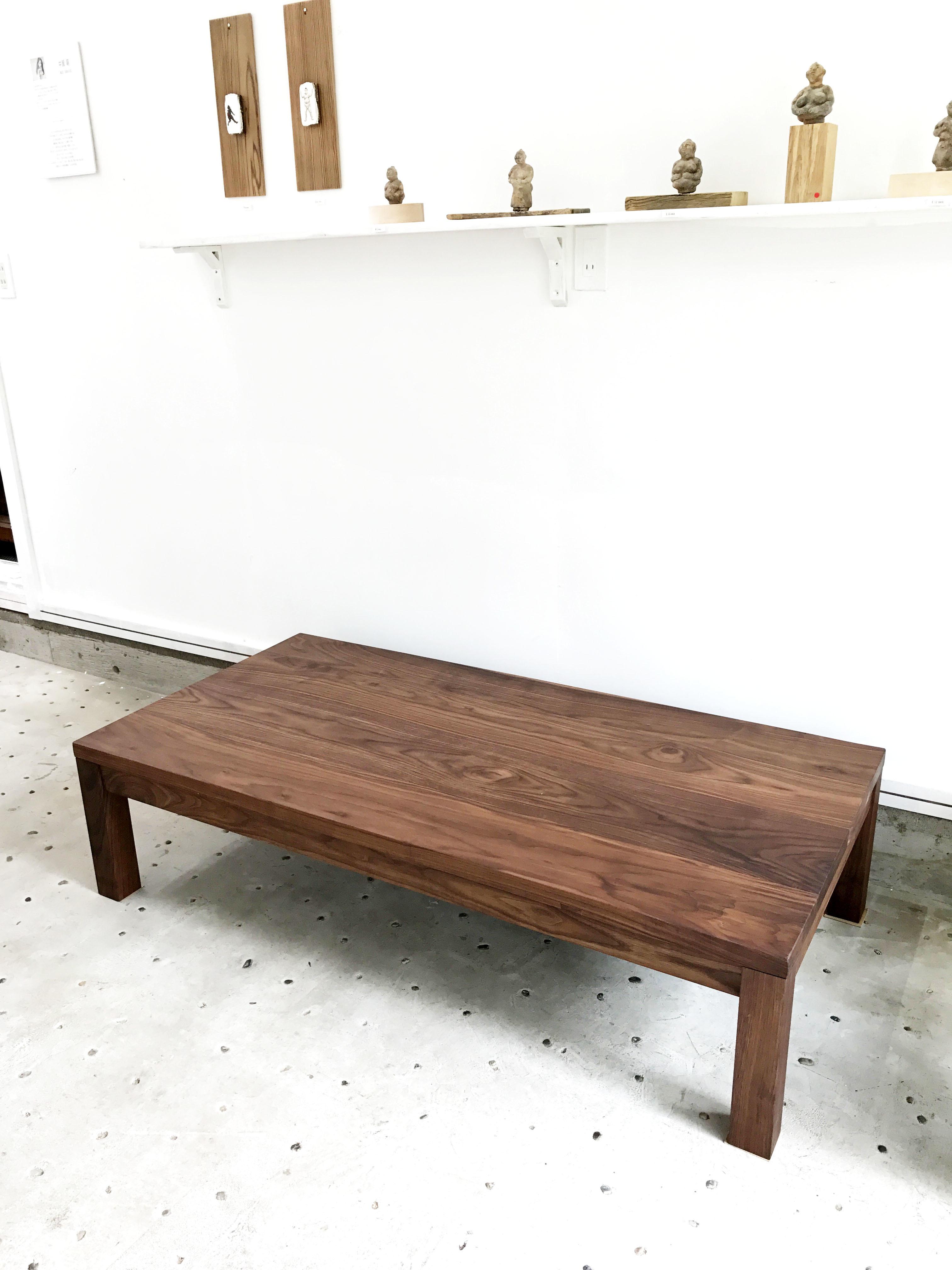 那須高原 じざい工房 小林康文の素材を活かす家具づくり座卓炬燵