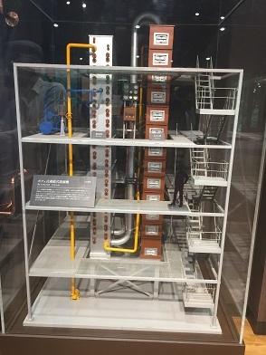 連続式蒸留器模型