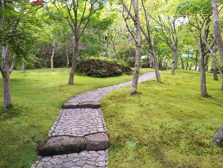 2017-09-15 箱根美術館 庭