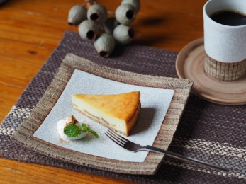 キャラメルりんごのチーズケーキ2017