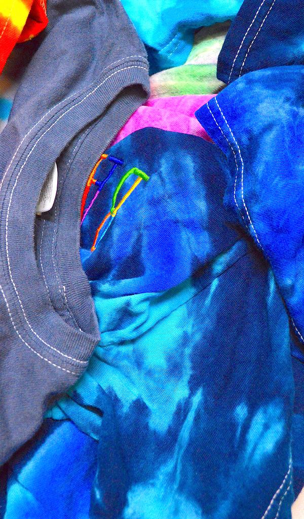 Tie-dyeタイダイTシャツ画像コーデ@古着屋カチカチ02