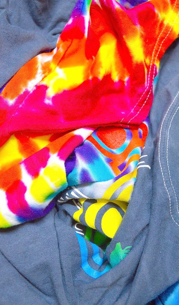 Tie-dyeタイダイTシャツ画像コーデ@古着屋カチカチ03