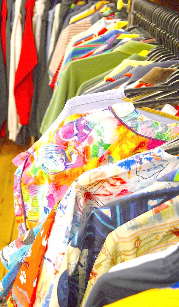 古着屋カチカチ店内画像@Used Clothing Shop Tokyo09