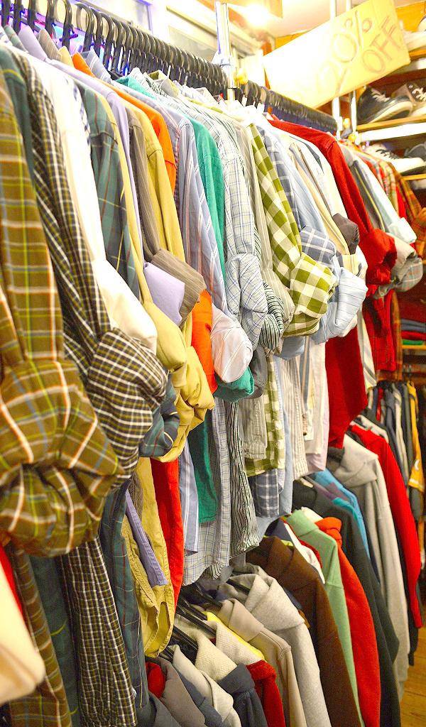 古着屋カチカチ店内画像@Used Clothing Shop Tokyo011