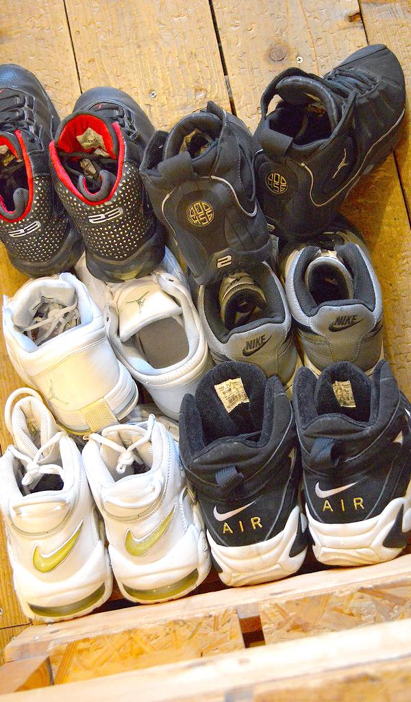 NikeナイキJordanジョーダン白黒スニーカー画像@古着屋カチカチ01