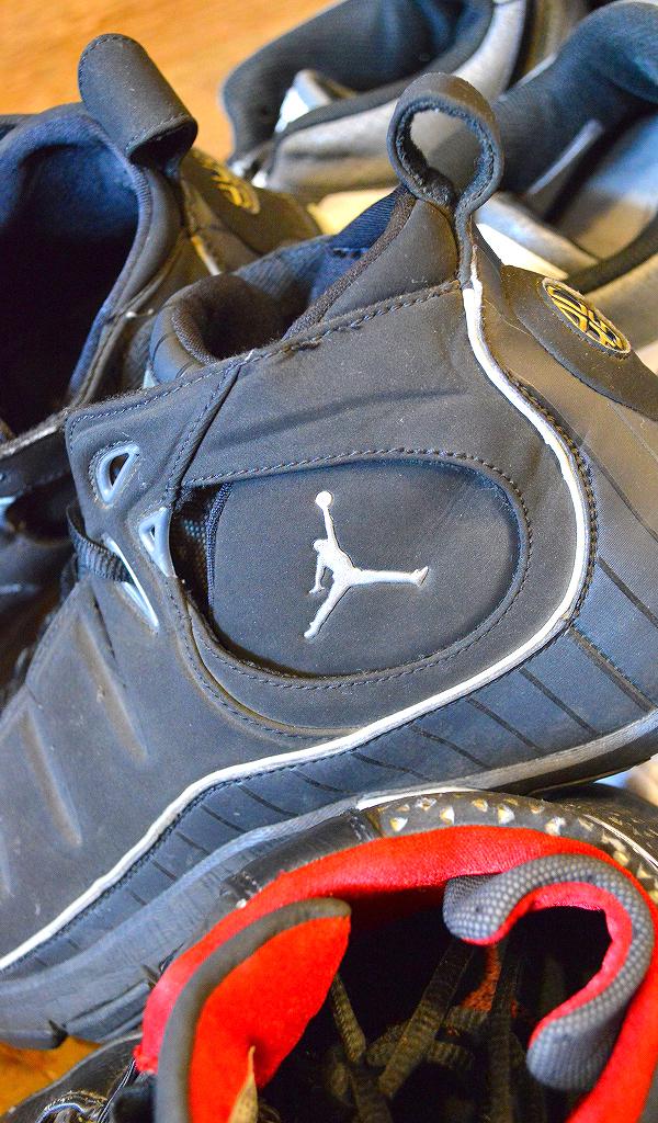 NikeナイキJordanジョーダン白黒スニーカー画像@古着屋カチカチ02
