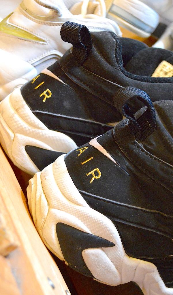 NikeナイキJordanジョーダン白黒スニーカー画像@古着屋カチカチ03