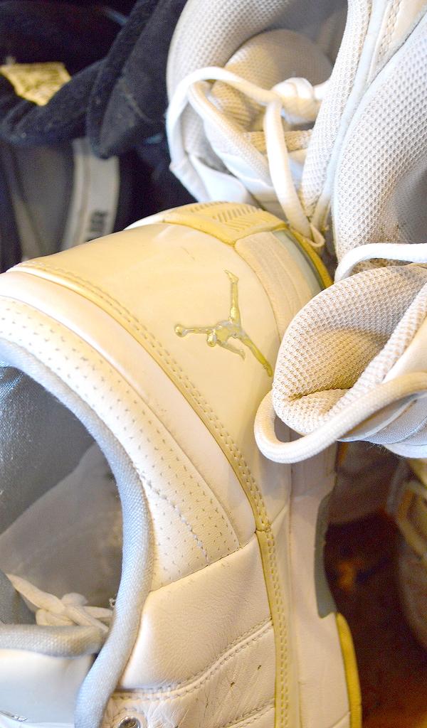 NikeナイキJordanジョーダン白黒スニーカー画像@古着屋カチカチ05