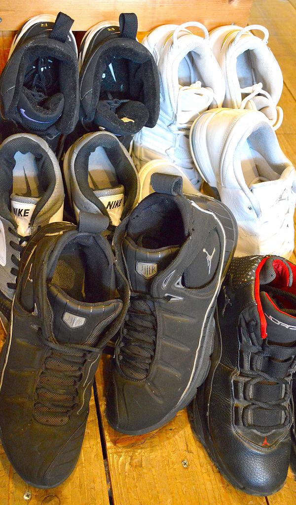 NikeナイキJordanジョーダン白黒スニーカー画像@古着屋カチカチ06