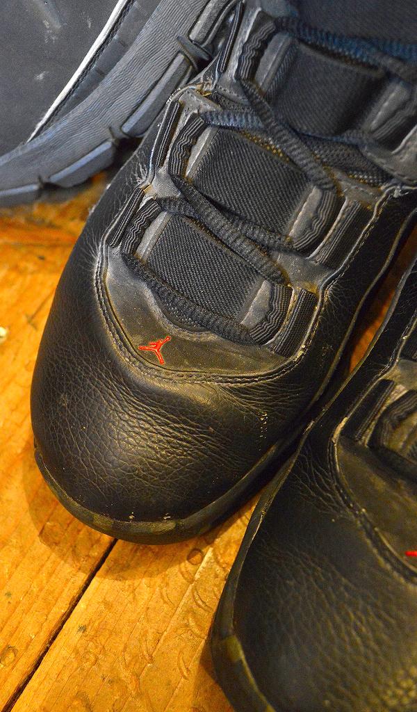 NikeナイキJordanジョーダン白黒スニーカー画像@古着屋カチカチ07