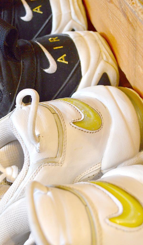 NikeナイキJordanジョーダン白黒スニーカー画像@古着屋カチカチ09