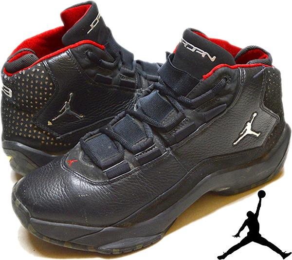 NikeナイキJordanジョーダン白黒スニーカー画像@古着屋カチカチ010