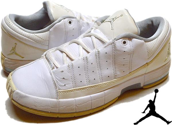 NikeナイキJordanジョーダン白黒スニーカー画像@古着屋カチカチ011