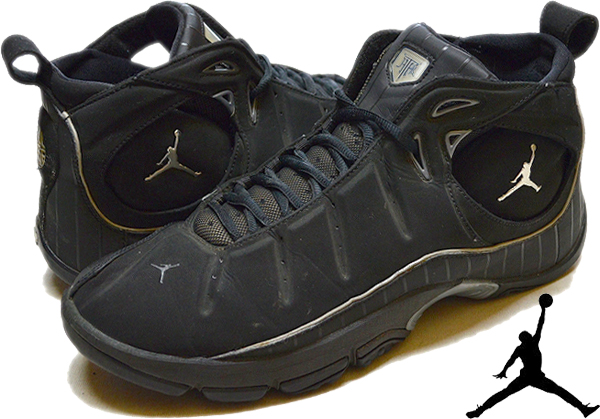 NikeナイキJordanジョーダン白黒スニーカー画像@古着屋カチカチ012