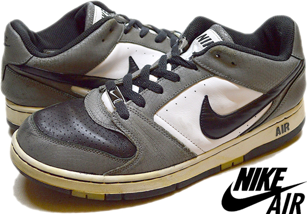 NikeナイキJordanジョーダン白黒スニーカー画像@古着屋カチカチ013
