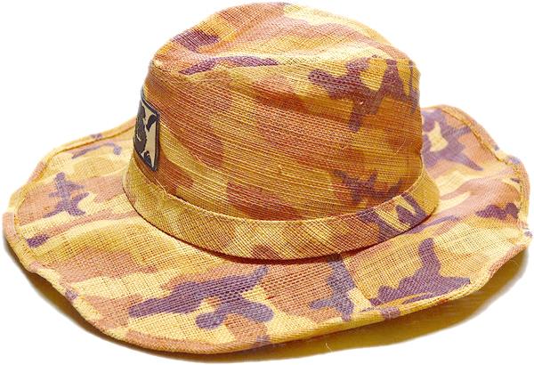 ストローハットStrawHat麦わら帽子画像リゾートコーデ@古着屋カチカチ02