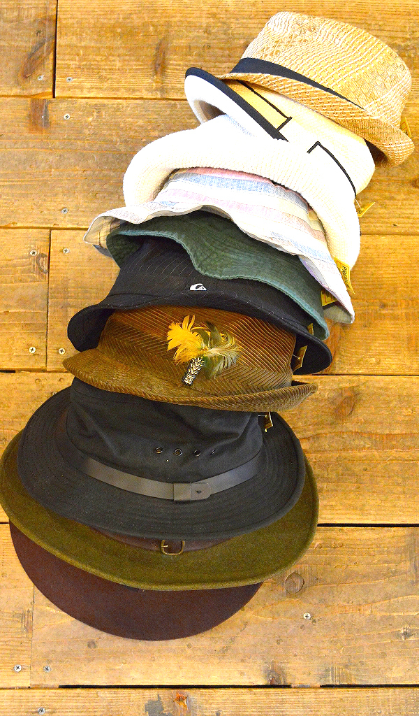 HATハット画像スタイルコーデ帽子メンズレディース@古着屋カチカチ01