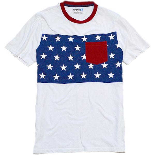 星条旗柄プリントTシャツ画像フラッグTコーデ@古着屋カチカチ02