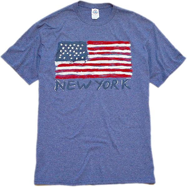 星条旗柄プリントTシャツ画像フラッグTコーデ@古着屋カチカチ03
