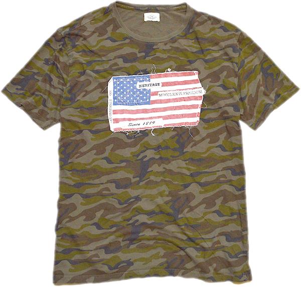 星条旗柄プリントTシャツ画像フラッグTコーデ@古着屋カチカチ05