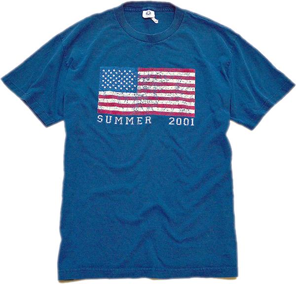 星条旗柄プリントTシャツ画像フラッグTコーデ@古着屋カチカチ06