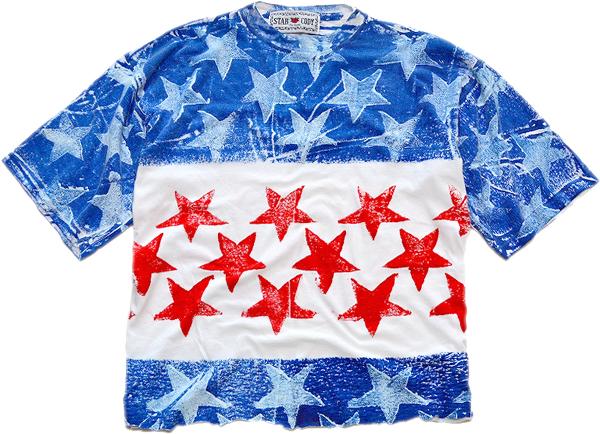 星条旗柄プリントTシャツ画像フラッグTコーデ@古着屋カチカチ09