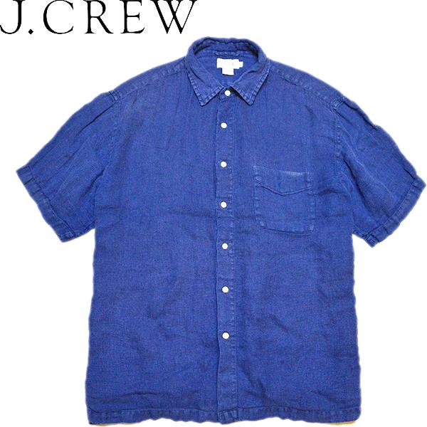 シンプルおしゃれ定番無地半袖シャツ画像メンズレディースOK@古着屋カチカチ02