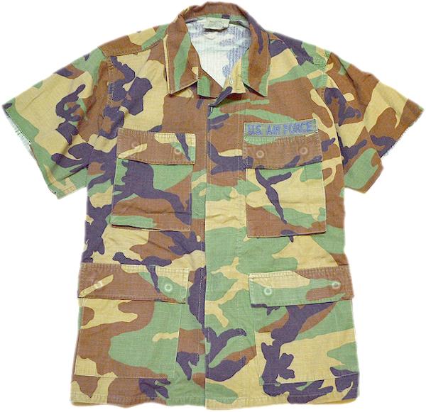 シンプルおしゃれ定番無地半袖シャツ画像メンズレディースOK@古着屋カチカチ012