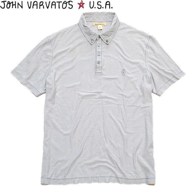 半袖ポロシャツ画像メンズレディースコーデ@古着屋カチカチ01