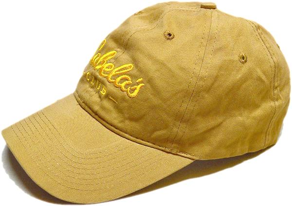 ベージュ色カーキ帽子キャップコーデ@古着屋カチカチ01